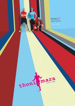 graphic design/production catalogue/advertising thoni mara