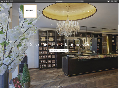 webdesign webshop storath chocolatier