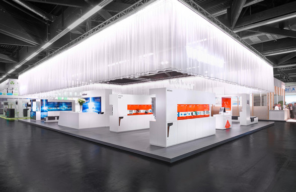 architectural photography woehner hannover fair
