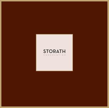 graphic design logo design  corporate design storath chocolatier