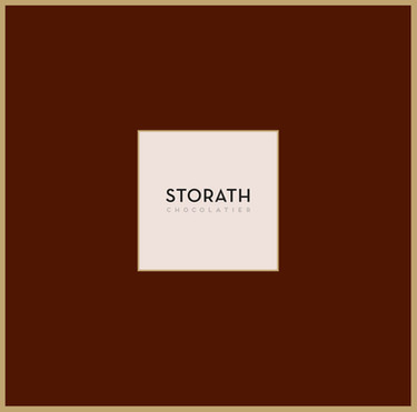 graphic design logo design  corporate design storath chocolatier