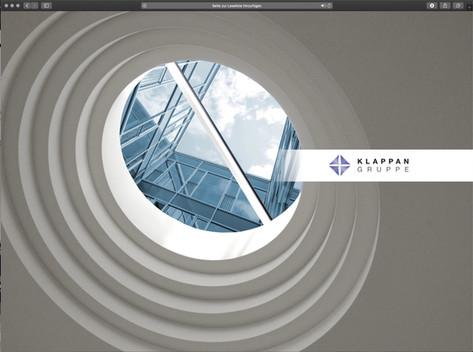 webdesign klappan group