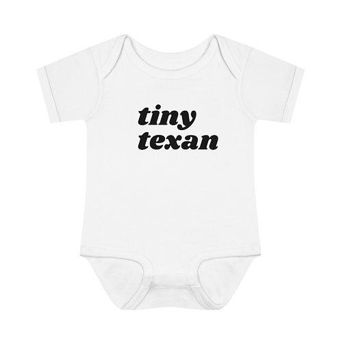 Tiny Texan Infant Baby Rib Bodysuit