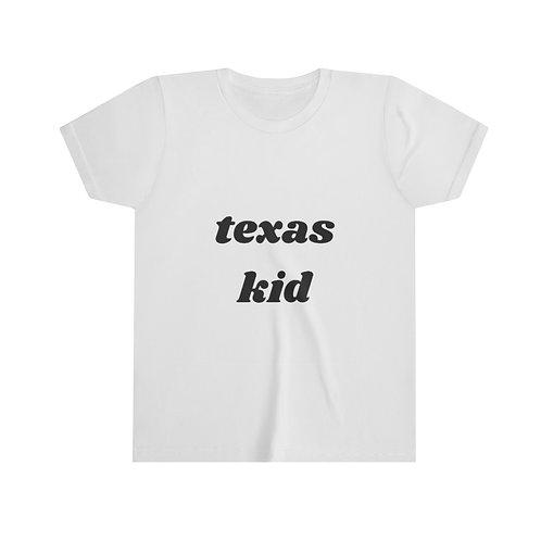 Texas Kid Youth Short Sleeve Tee