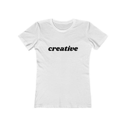 CREATIVE Women's The Boyfriend Tee