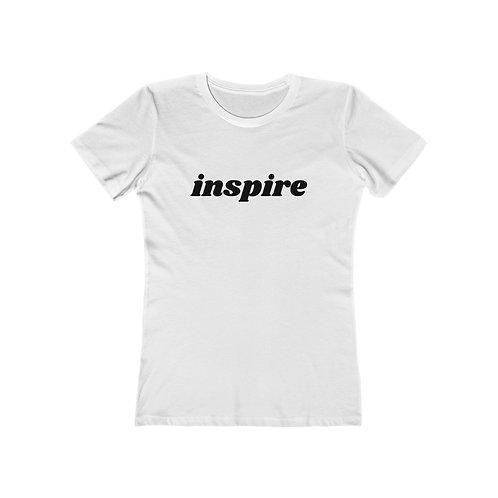 INSPIRE Women's The Boyfriend Tee
