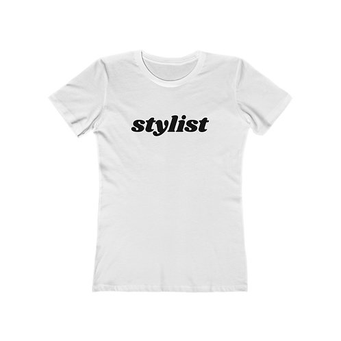 STYLIST Women's The Boyfriend Tee