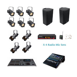 Small Theatre Sound & Lighting Package