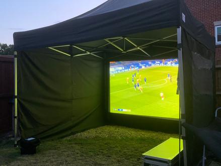 Garden - Pub - Live Sport Screen Hire