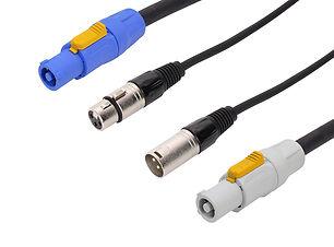 Powercon DMX Combi HIre