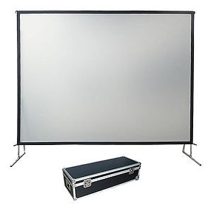 Projector Screen Fast Fold Hire