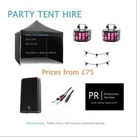 Party Tent Hire Gloucester, cheltenham, stroud