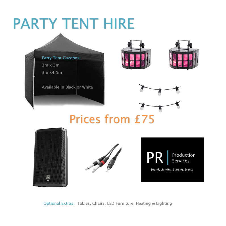 Party Tent Package Hire