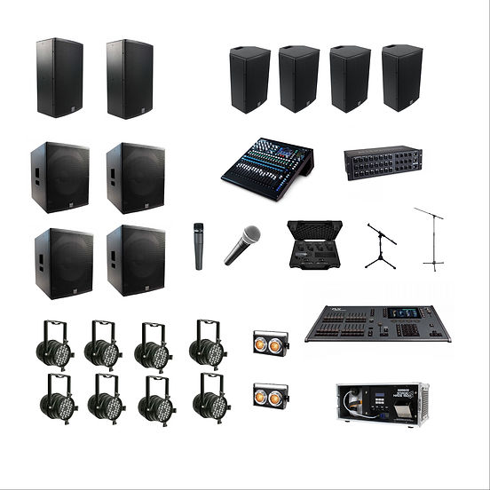 Small Festival, Community Day, Pub Festival Sound & Lighting Package