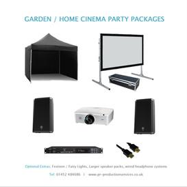Garden Cinema Package