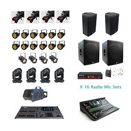 The Pantomime Sound & Lighting Package