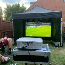 Outdoor Projector & Screen