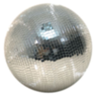 30cm Mirror Ball Hire