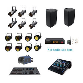 Community Theatre Sound & Lighting Hire Package