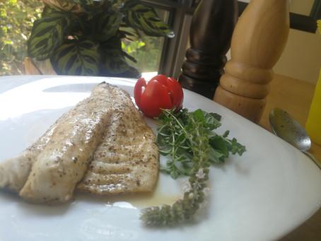 פילה דג לבן צלוי במחבת