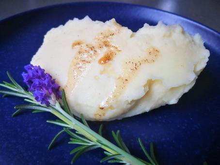 פירה עם פטנט טעם (רמז: חמאה חומה)