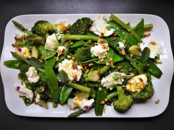 ירקות אביביים ברוטב הדרים