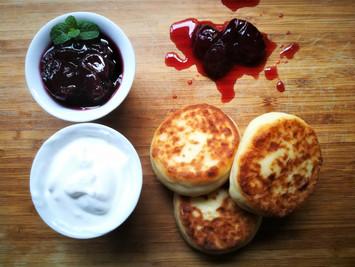 לביבות גבינה רכות - סירניקי