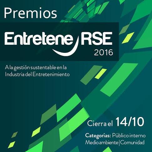 Premios a la Gestión Sustentable en la Industria del Entretenimiento 2016