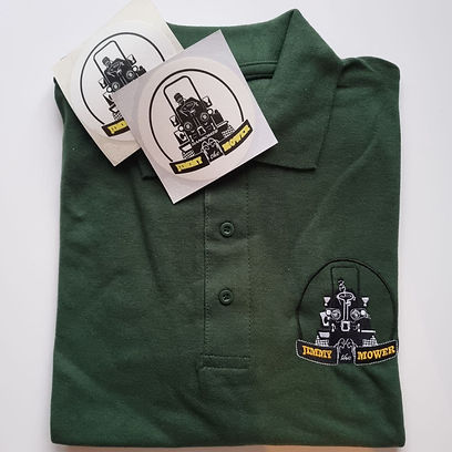 Jimmy the mower tshirt and stickers.jpg