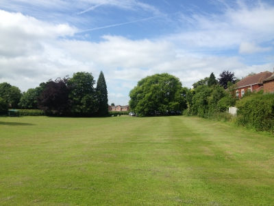 Playing Field Grass Cut by Ditton Services