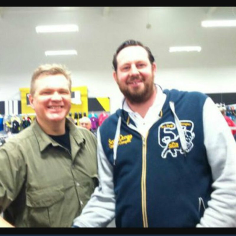 Ray Mears & Jimmy