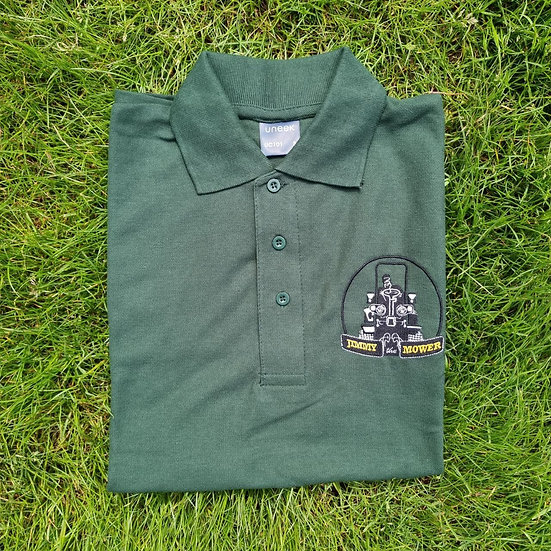 Jimmy the Mower Embroidered Polo Shirt - Size Extra Large