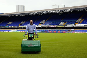 Jimmy at Ipswich Town FC
