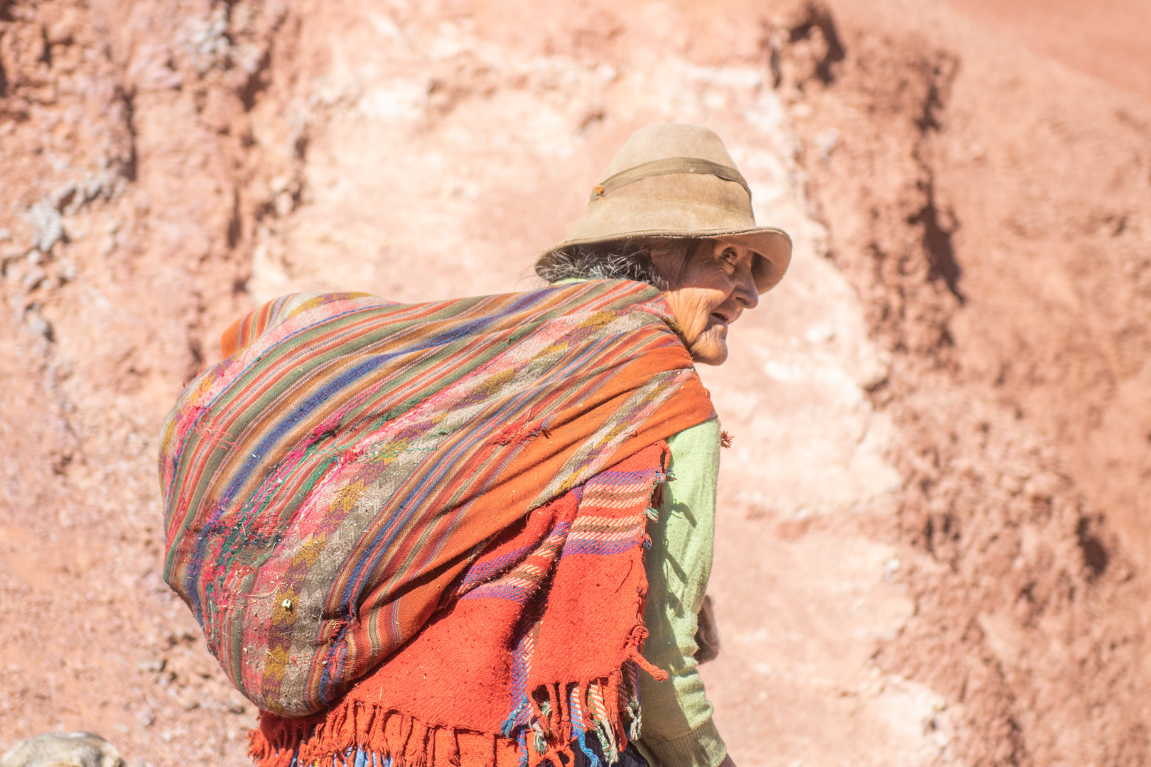 Traditional clothing in the Andes