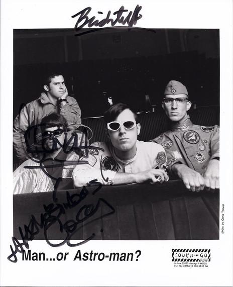 Man or AstroMan?