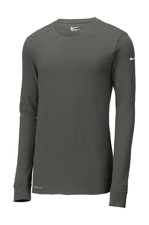 Nike Dri-FIT Cotton/Poly Long Sleeve