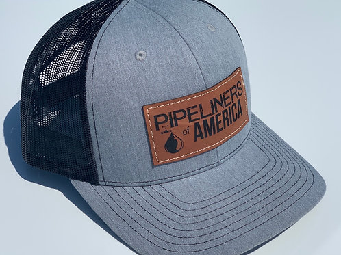 POA Leather Patch Hat