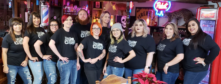 Aces and Eights Barbershop Staff