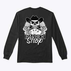 Aces & Eights Barbershop Long Sleeve Shirt