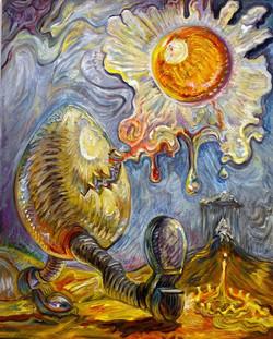 Cosmic Egg, Oil on Linen.jpg