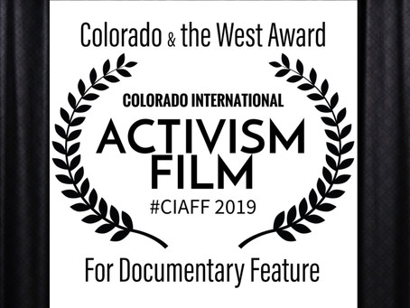 DOC AWARD AT CIAFF 2019!