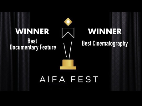 BEST DOCUMENTARY FEATURE!  BEST CINEMATOGRAPHY!