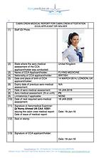 Cabin Crew Medical Certificate _ FlyingMedicine
