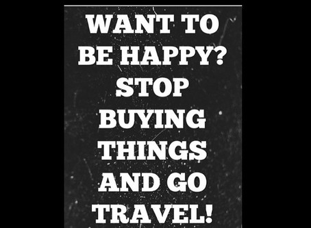 Travelling Solo- when you need to get away from everything and everyone!
