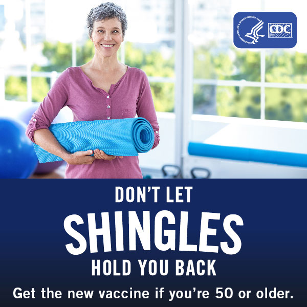 CDC Shingles vaccine