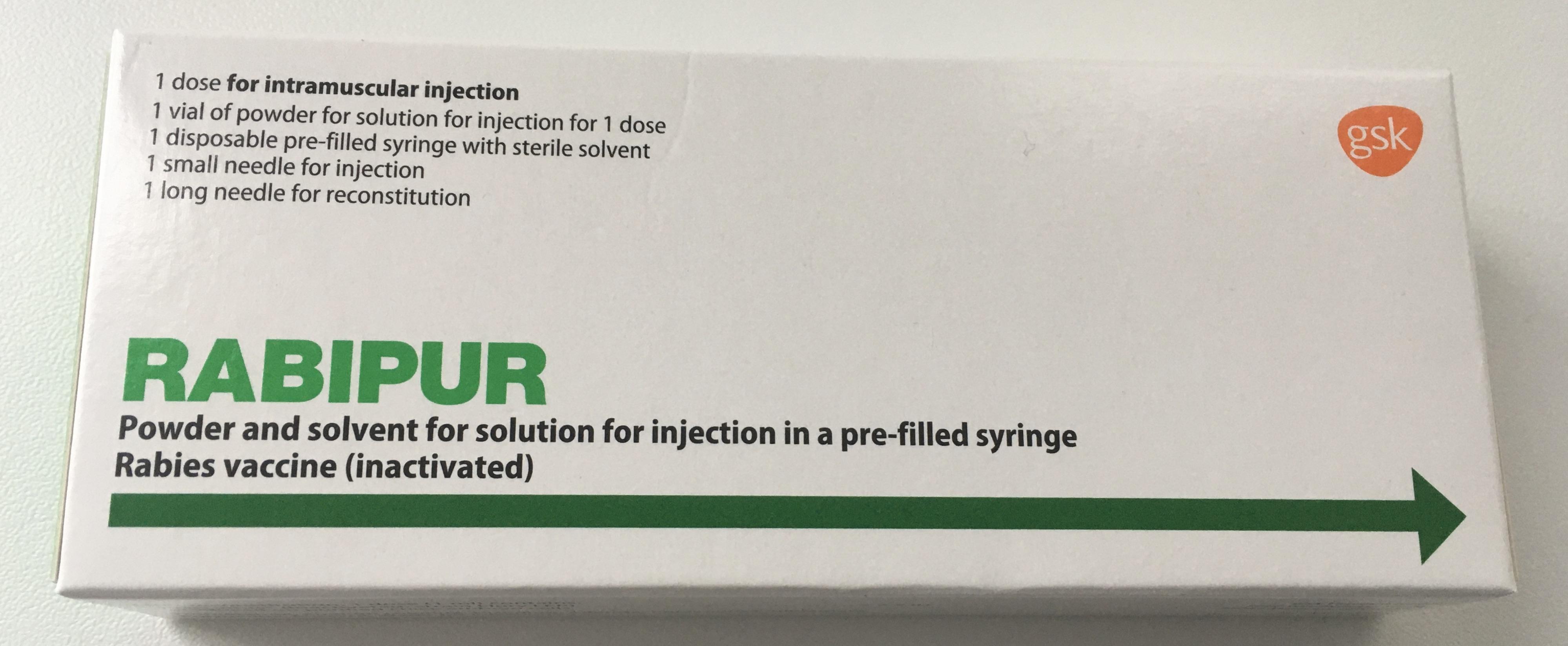 FlyingMedicine Rabipur Rabies vaccination