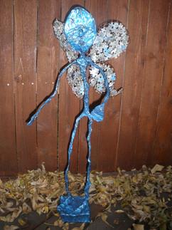 Blue Butterfly Woman