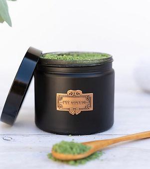 MYTHYN. Natural bath soak. Vegan beauty products. Vegan bath salts.