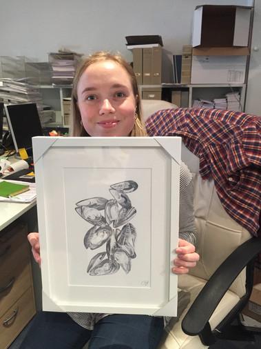 Mussels Print