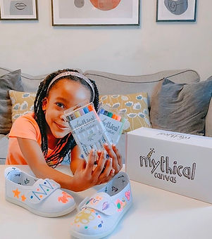 Mythical Canvas. Craft kits for kids.